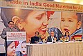 J.P. Nadda addressing the gathering, at a function 'Made in India Good Nutrition for All Implications of the Global Nutrition Report and the India Health Report for Nutrition Security in India'.jpg