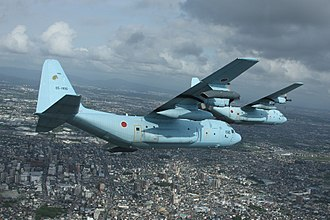 401st Tactical Airlift Squadron (JASDF) - C-130Hs of 401st Squadron