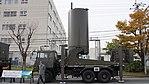 JASDF J TPS-102 Radar(Antenna unit, 46-8392) left side view at Kasuga Air Base November 25, 2017.jpg