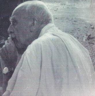 Haldane's dilemma - J. B. S. Haldane in 1964