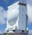 JFPS-5 (A radar enables the detection and tracking of ballistic missiles).png