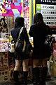 JK talking about Heavy Rotation by AKB48, at Sofmap Akihabara Music CD shop (ソフマップ 秋葉原 音楽CD館 店頭広告 AKB48 ヘビーローテーションを肴に語らう女子高生) (2010-10-08 20.30.21 by Ryo FUKAsawa).jpg