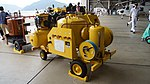 JMSDF engine compressor washing rig left rear view at Maizuru Air Station July 29, 2017.jpg
