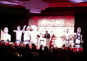 National Track and Field Hall of Fame - Award ceremony for the National Track and Field Hall of Fame at the Jesse Owens Award banquet, 2011