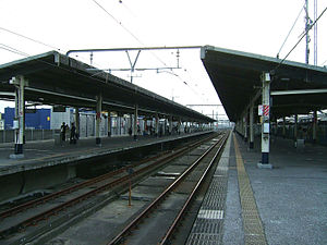 Minami-Funabashi Station - Image: JR East Minami funabashi station platform