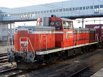 JNR Class DE10 - DE10 3510 in April 2013
