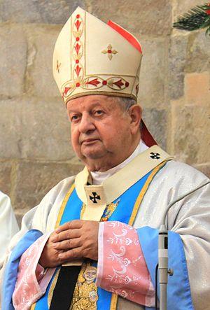 Stanisław Dziwisz - Image: JRKRUK 20130907 KARD STANISLAW DZIWISZ WISLICA IMG 3893B