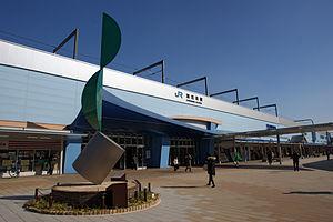 Kakogawa Station - Image: JR Kakogawa station 04n 4592