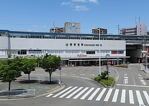 JR Nishi Akashi Station West Gate 20200523.jpg