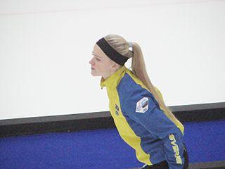 Isabella Wranå Swedish curler
