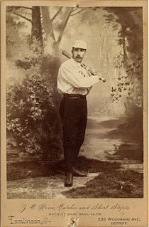 Jack Rowe American baseball player, manager, and owner