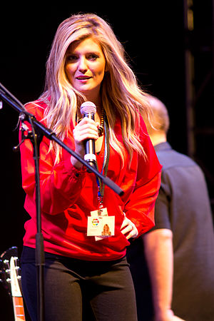 CHCH-DT - Jaclyn Colville at the Hamilton Festival of Friends in 2012.