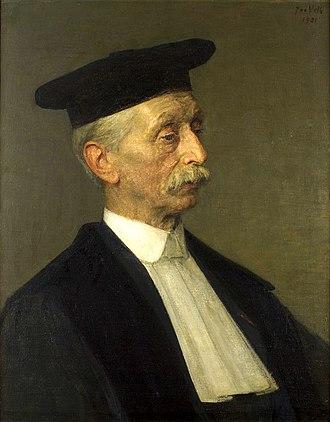 Jacobus Kapteyn - Jacobus Kapteyn. Painting by Jan Veth (1921).