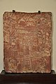 Jain Tablet Homage Set-up by Vasu the Daughter of Courtesan Lavana Sobhika - Circa 1st Century CE - Kankali Mound - ACCN 00-Q-7 - Government Museum - Mathura 2013-02-24 5987.JPG