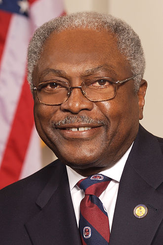 Party leaders of the United States House of Representatives - Majority Whip Jim Clyburn (D)