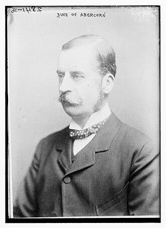 James Hamilton, 2nd Duke of Abercorn - James Hamilton, 2nd Duke of Abercorn, circa 1913