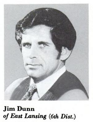 United States Senate election in Michigan, 1988 - Image: James W Dunn