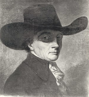 Jean-Pierre Norblin de La Gourdaine - Jan Piotr Norblin. Self-portrait.