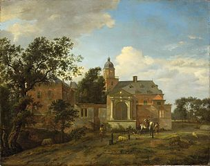 View of Nyenrode Castle