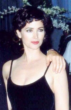 Janine Turner - Turner at the 1993 Emmy Awards, Governor's Ball