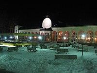Janske Lazne Colonades at night.jpg