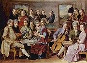 El divertimento en el siglo xviii estaba compuesto para pequeñas