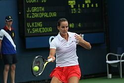 Jarmila Groth at the 2010 US Open 02.jpg