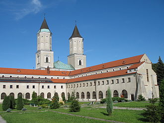 Jarosław - St. Nicholas church and Benedictine abbey