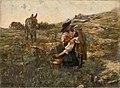Jaroslav Věšín - Zaľúbení - O 1470 - Slovak National Gallery.jpg