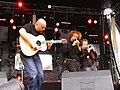 Jean-Charles Guichen avec le David Pasquet Trio, aux Nuits Celtes à Muzillac en 2003. .jpg