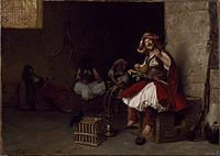 Jean-Léon Gérôme - Bashi-Bazouk Singing - Walters 37883.jpg