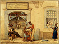 Jean Baptiste Debret - Loja de barbeiros, 1821.jpg