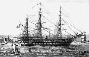 French ship Jean Bart - Image: Jean Bart Lebreton