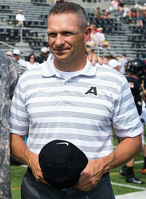 Jeff Monken - Monken in 2014