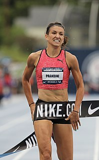 Jenna Prandini American sprinter and long jumper