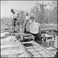 Jerome Relocation Center, Denson, Arkansas. Volunteer worker residents of the center operating a sa . . . - NARA - 538825.jpg