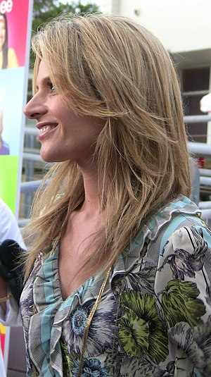 Jessalyn Gilsig - Jessalyn Gilsig at premiere party of TV series, Glee, Santa Monica, California in May 11, 2009