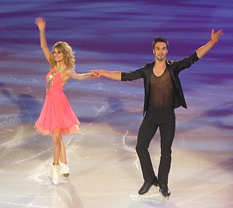 Gabriella Papadakis - Papadakis/Cizeron at the 2013 Trophée Éric Bompard