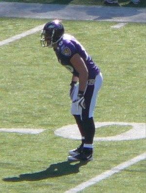 Jim Leonhard - Leonhard with the Ravens.