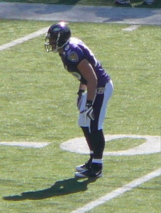 Jim Leonhard - Leonhard with the Ravens.
