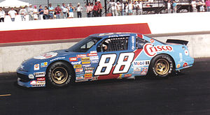 Jimmy Spencer - Spencer's No. 88 race car in 1989.