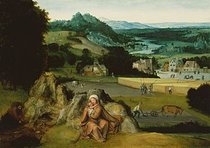 Rest on the Flight into Egypt and the Miraculous Field of Wheat