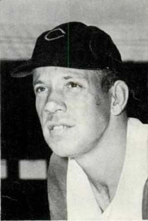 Joe Nuxhall - Nuxhall in 1957