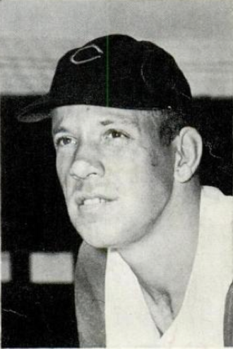 Joe Nuxhall - Nuxhall in 1957