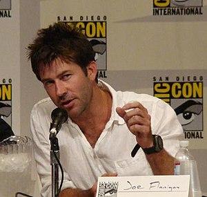 Joe Flanigan - Flanigan at the 2007 Comic Con International