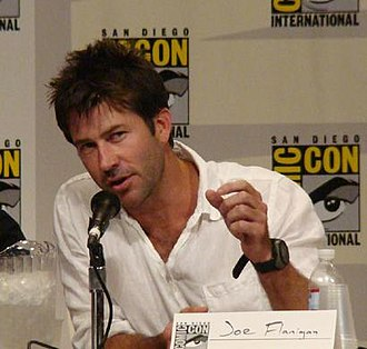 Stargate Atlantis - Joe Flanigan, one of many main characters, at Comic Con 2007