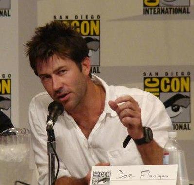 Joe Flanigan, American actor and writer