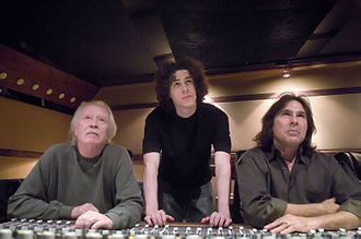 John Carpenter - Carpenter with Bruce Robb (right) and son Cody Carpenter (middle) in 2005
