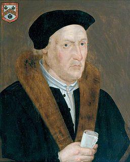 Thomas Exmewe Lord Mayor of London, 1517