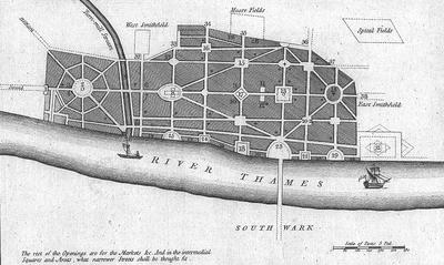 Great Fire Of London Map.Great Fire Of London Wikipedia